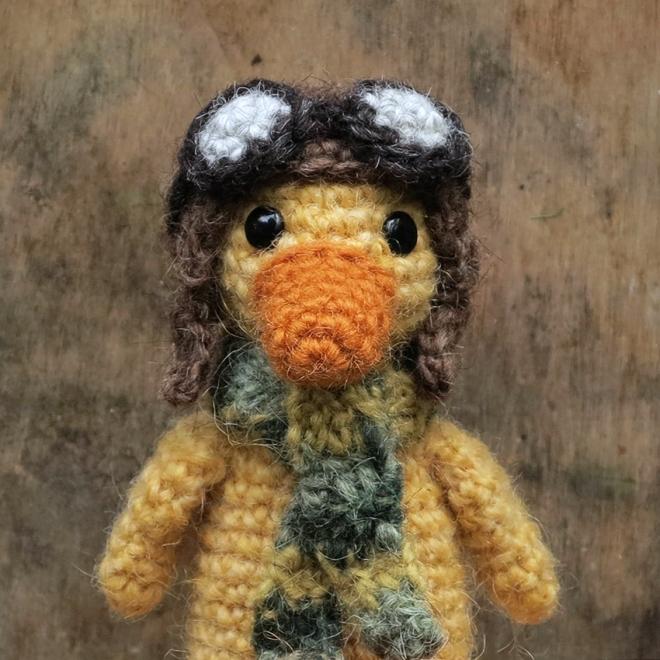 Crochet Duck Sons Popkes