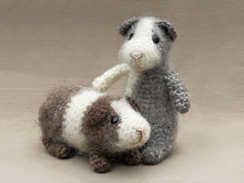 Guinea pig crochet pattern