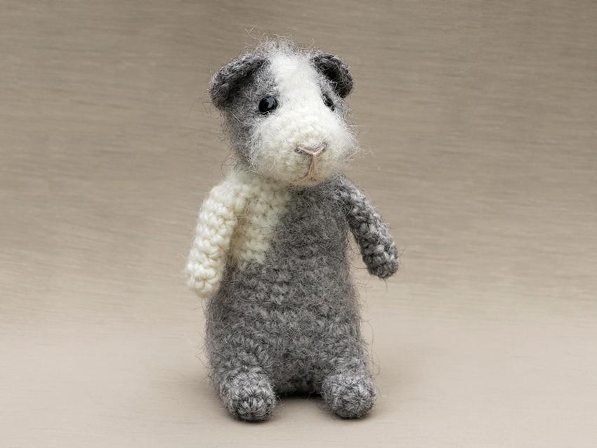Crochet Amigurumi Guinea Pig : Sons Popkes Crochet animal patterns designed by Sonja ...