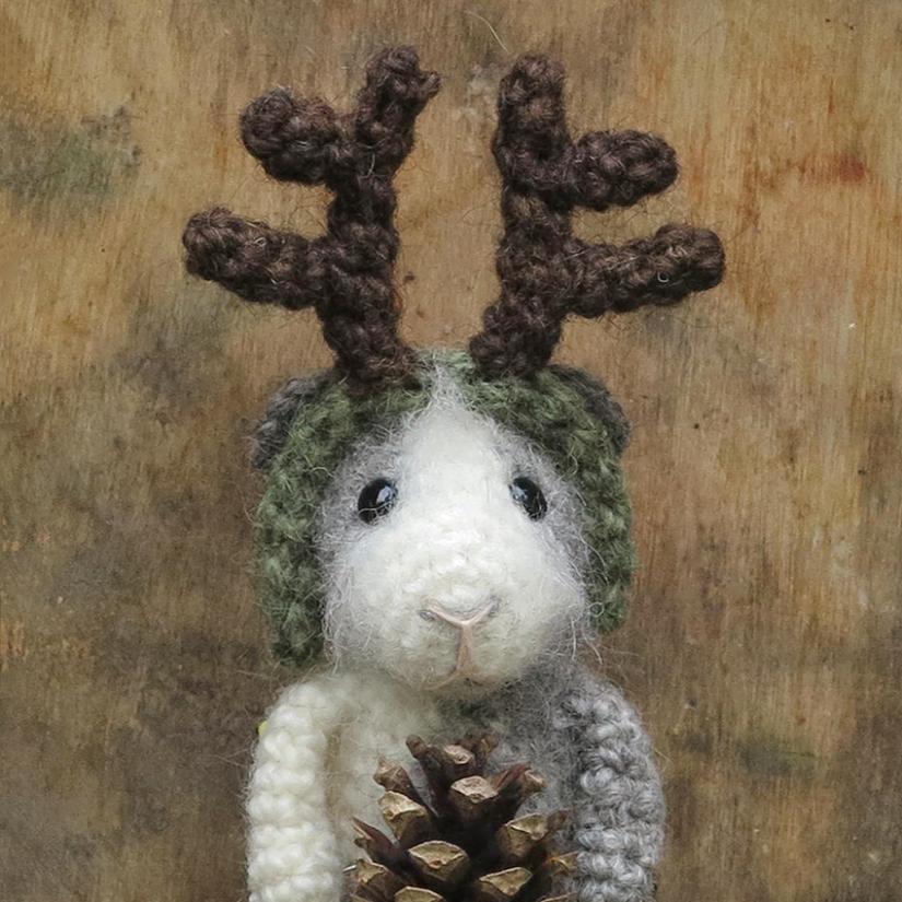 free crochet animal accessory pattern