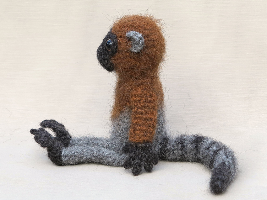 Amigurumi Monkey Patterns : Lemur monkey crochet pattern son s popkes