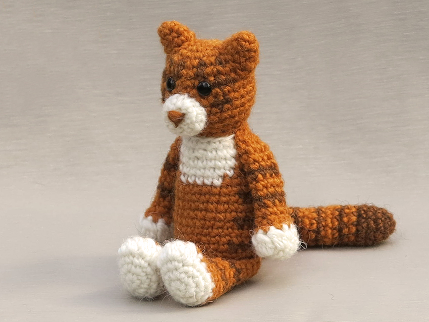 Cat Crochet Stuffed Animal/Amigurumi Cat Art/Savannah African Cat ... | 638x850