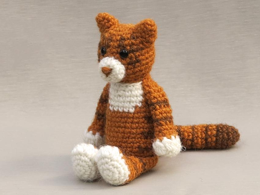 Amigurumi Cat Pattern Sons Popkes