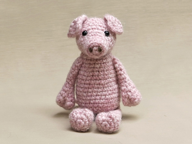 Little pig | Free amigurumi and crochet toy patterns | lilleliis | 495x660