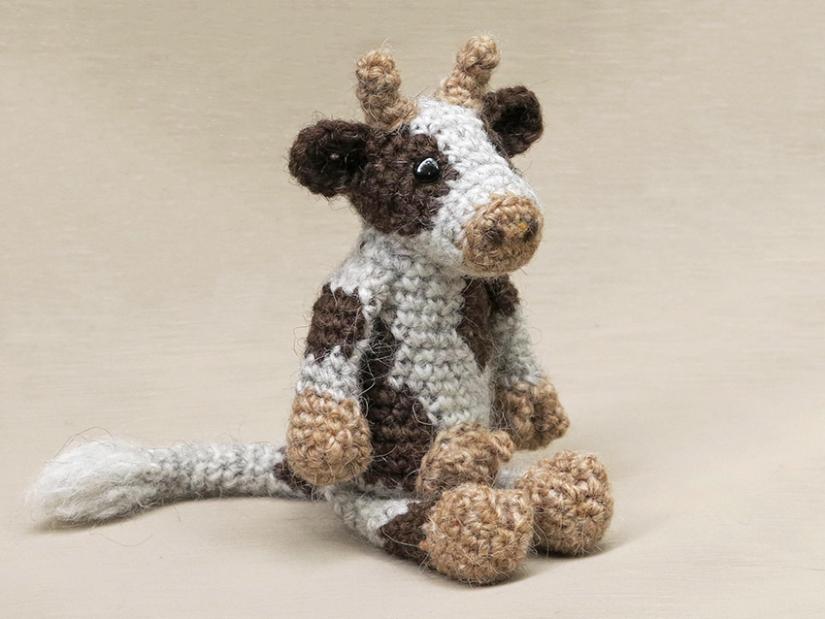 realistic crochet cow pattern