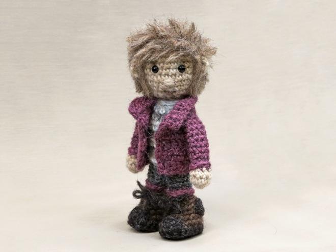 sturdy amigurumi crochet doll