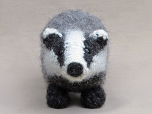 crochet badger pattern