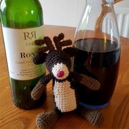 Thirsty reindeer