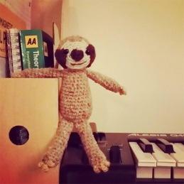 Musical sloth