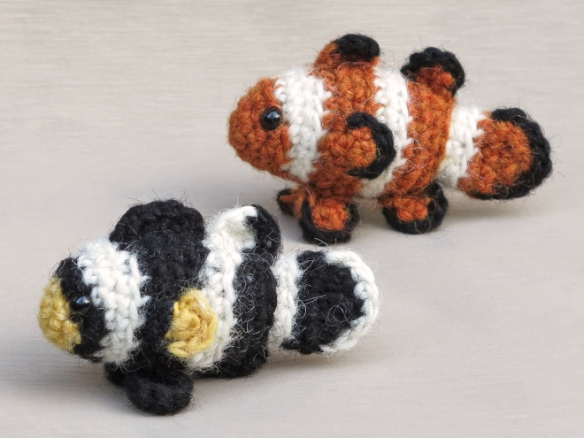 clownfish crochet pattern