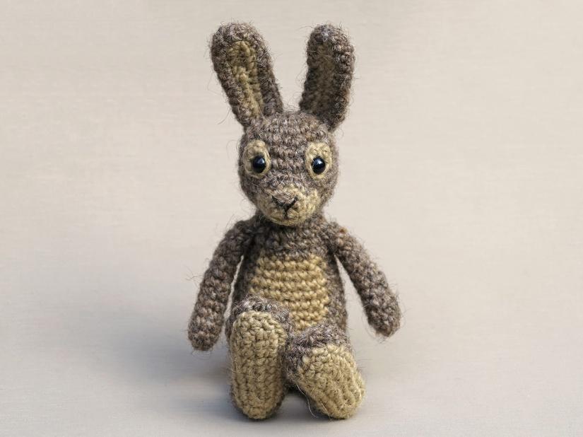 rabbit amigurumi crochet