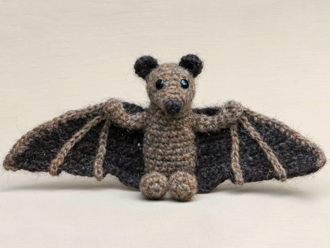 crochet animal, animals, haakpatroon vleermuis, halloween.