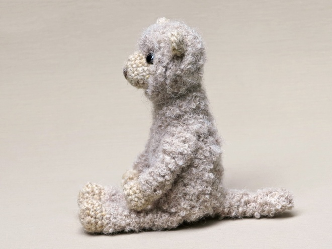Alpaca Crochet Amigurumi Pattern - Sir Purl Grey | 495x660