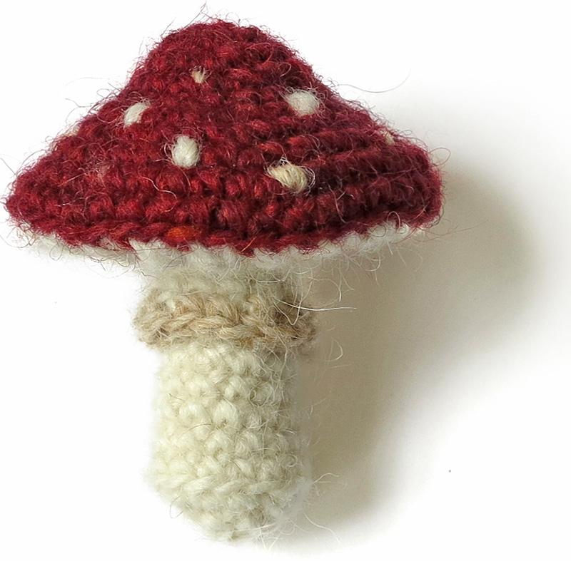 Mushroom Collection & Variations crochet patterns   PlanetJune by ...   787x800