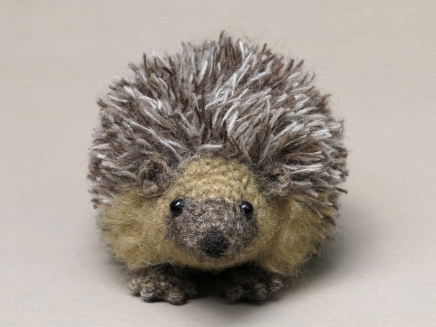Hedgehog crochet pattern