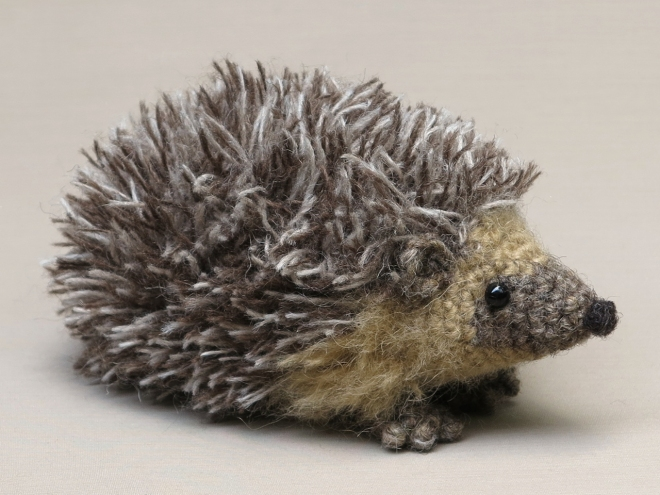 amigurumi hedgehog pattern