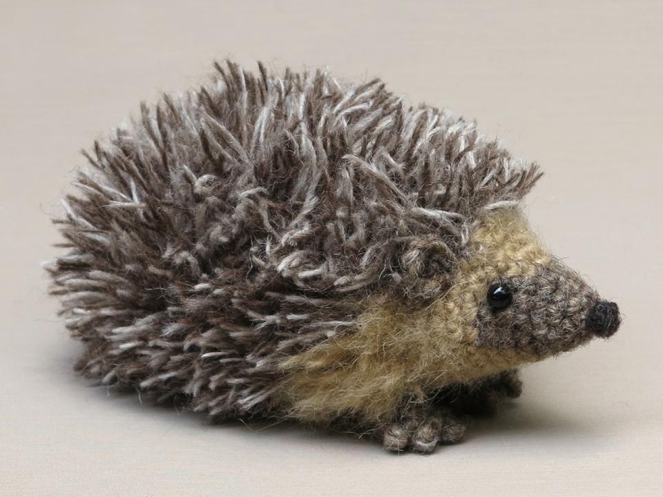 amigurumi hedgehog pattern