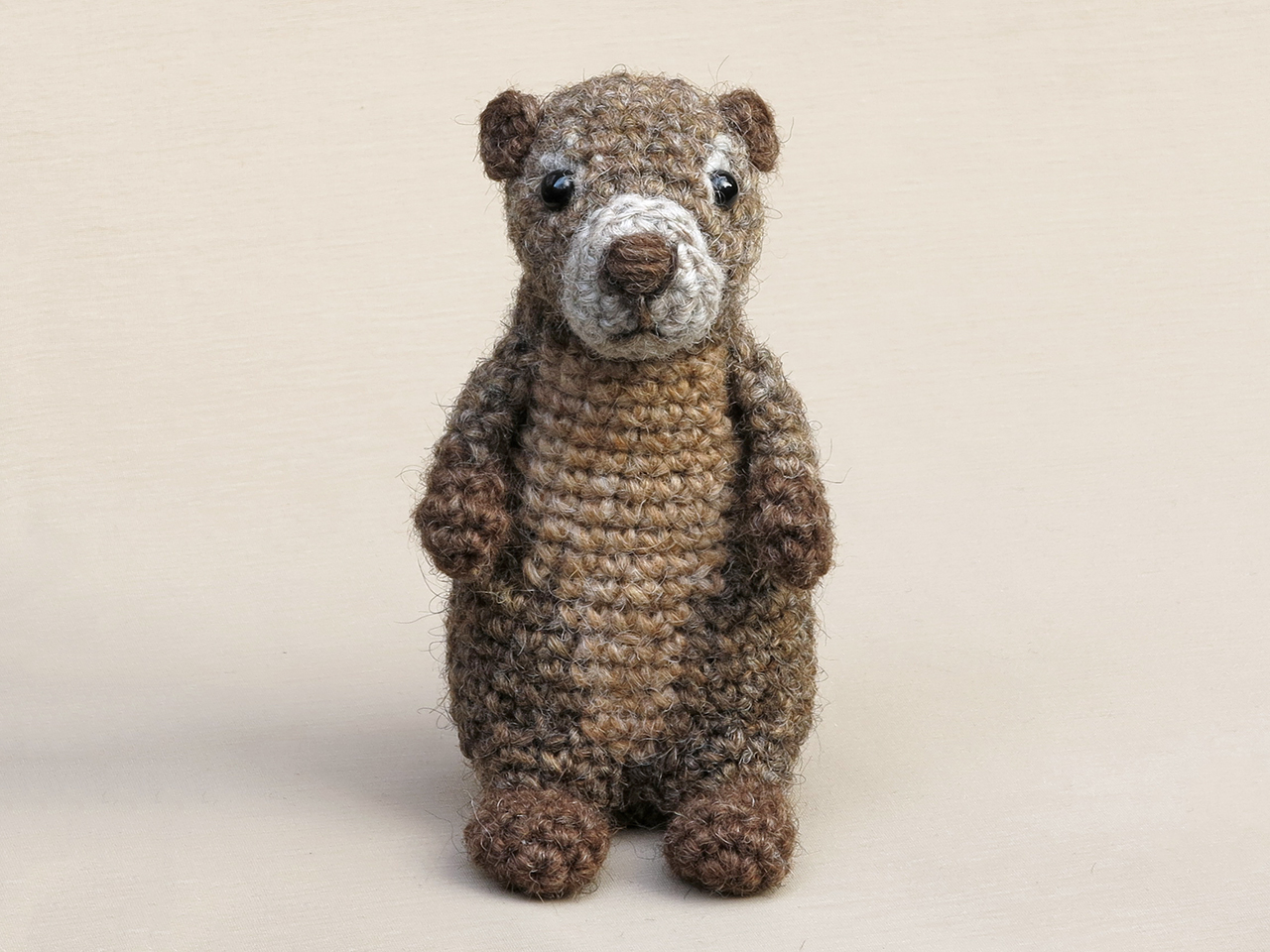 PDF Brown / Grizzly Bear amigurumi CROCHET PATTERN | Crochet bear ... | 960x1280