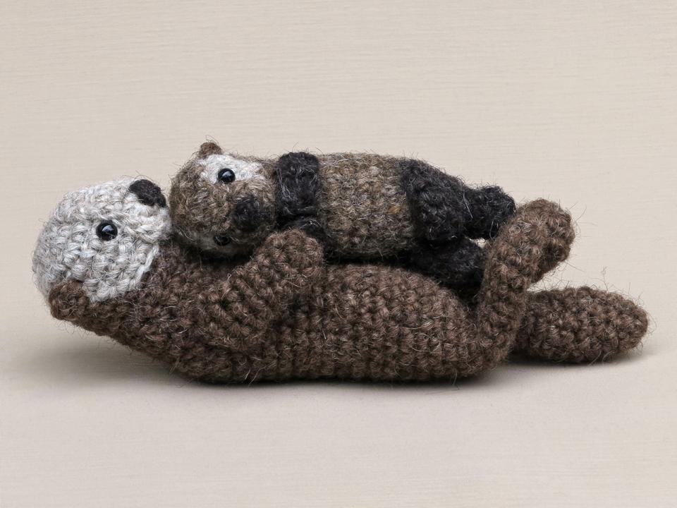 amigurumi sea otter
