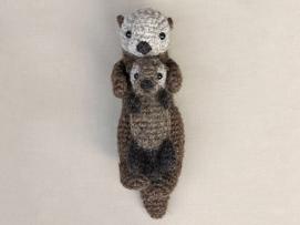 easy crochet sea otter pattern
