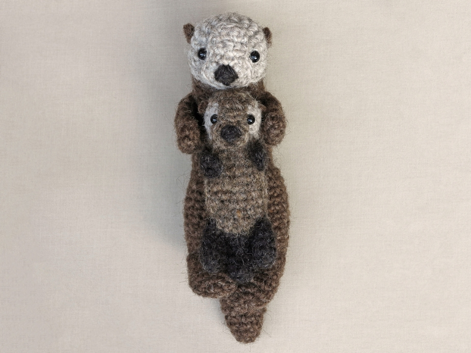 easy crochet sea otter pattern
