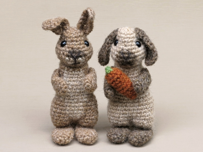 easter bunny, crochet rabbit pattern