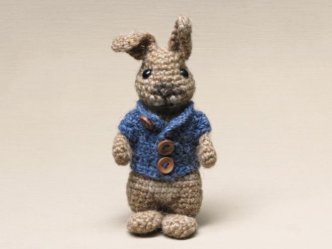 Ravelry: The lop rabbit pattern by Sonja van der Wijk | 495x660