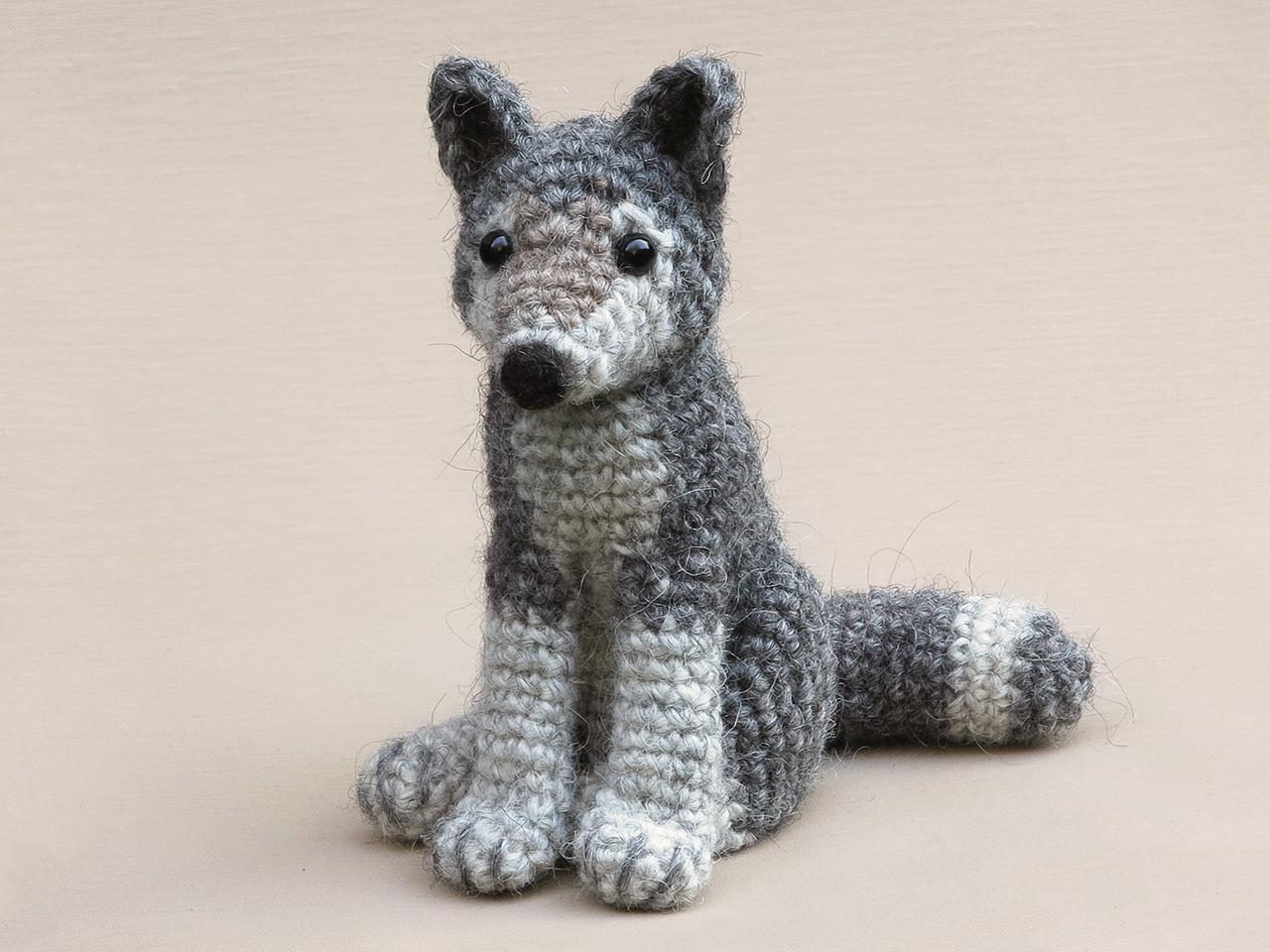 AMIGURUMI CROCHET PATTERN wolf and fox forest animal | Etsy | 960x1280