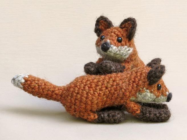 crochet fox cub pattern