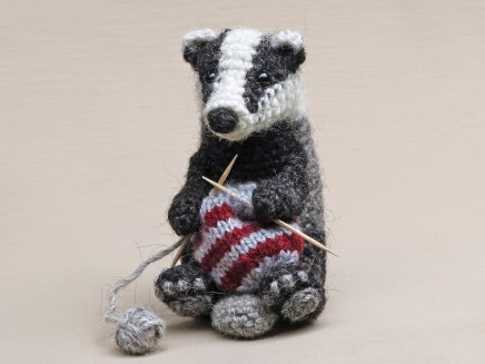 realistic crochet animal