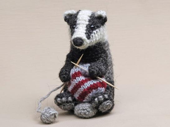 realistic crochet animal