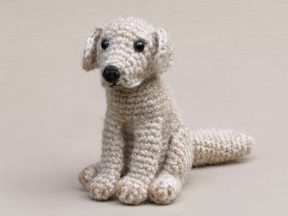 Crochet labrador amigurumi pattern