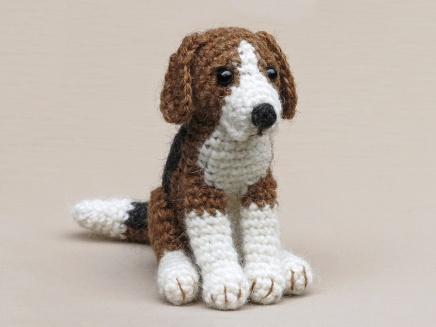 beagle amigurumi