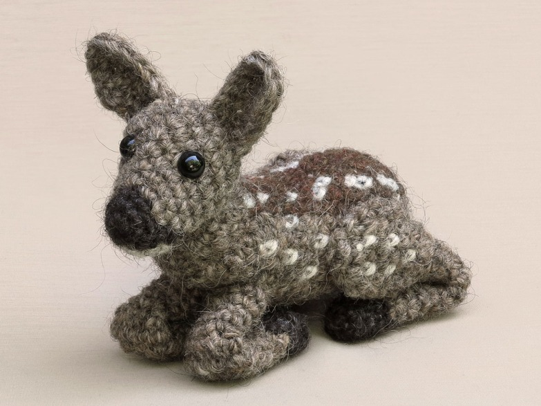 amigurumi fawn roe deer