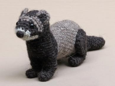 crochet polecat pattern